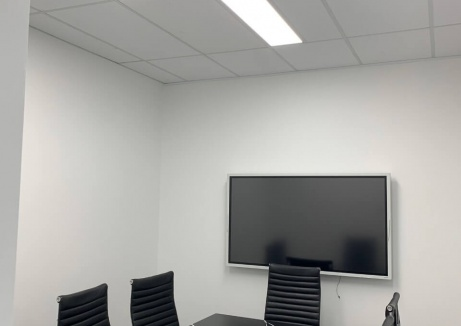 Wall Mounted TV - Palsterboard Repairs - TM Linings