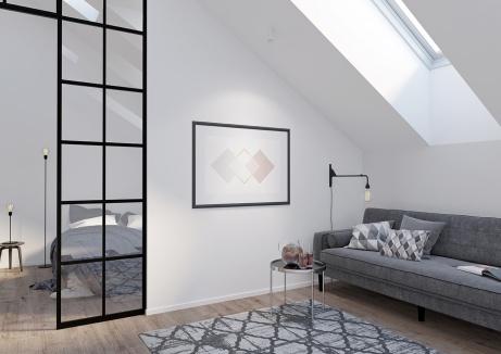 rom with skylight